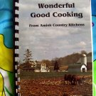On Sale! Wonderful Good Cooking From Amish Country Kitchens Spiral Cookbook 200 Recipes