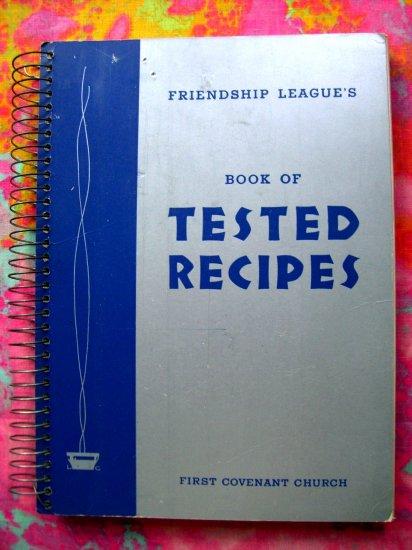 SOLD!  Vintage Minneapolis Church Cookbook Swedish Recipes 1948 HTF