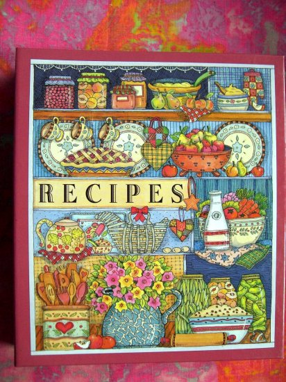 SOLD! Blank Recipe Cookbook 100 Pages for Recipes 3 Ring Binder Book Food Journal