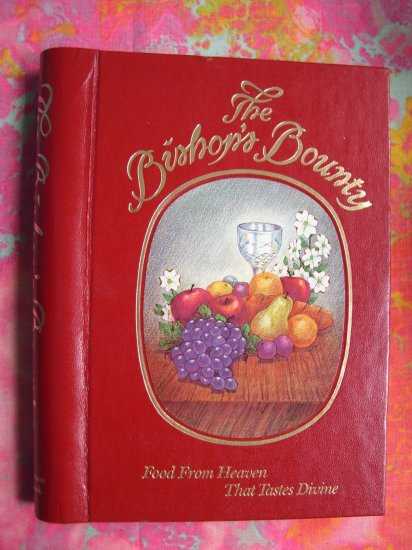 SOLD! The Bishop's Bounty Saint (St) Mary's Parents COOKBOOK 1987 Alexandria Louisiana Southern