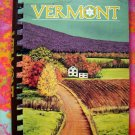 VERMONT Cookbook A Collection of Outstanding Recipes American Cancer Society 1st Ed 1982