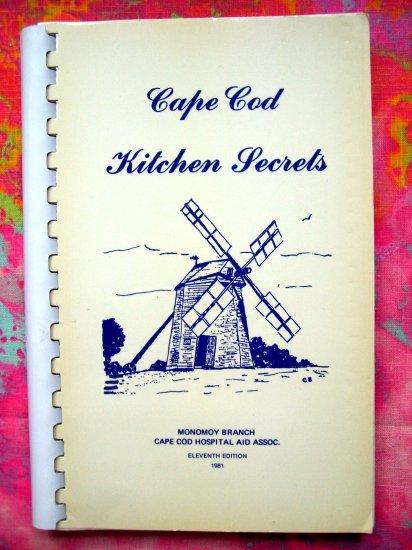 SOLD! CAPE COD KITCHEN SECRETS Cookbook 1981 Chatham, Massachusetts (MA)