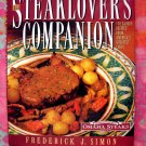 STEAKLOVER'S COMPANION COOKBOOK 170 RECIPES HCDJ STEAK MEAT from Omaha Steaks