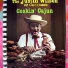 TV's Justin Wilson #2 (Number 2) Cookbook~~Cookin' Cajun Recipes 1986