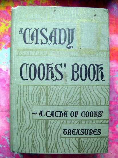 On SALE!  Casady Cooks' Book ~ Cache of Cooks' Treasures Vintage Cookbook OKC Oklahoma City OK 1961