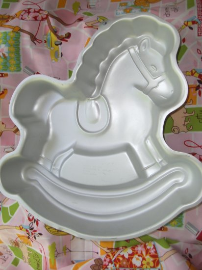 SOLD! Wilton Cake Pan Rocking Horse