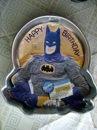 SOLD! Wilton Cake Pan BATMAN 1989 #2105-6501 Circa 1989