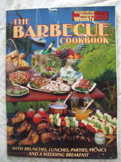 SOLD!  Australian Women's Weekly THE BARBECUE COOKBOOK BBQ Recipes from Down Under!