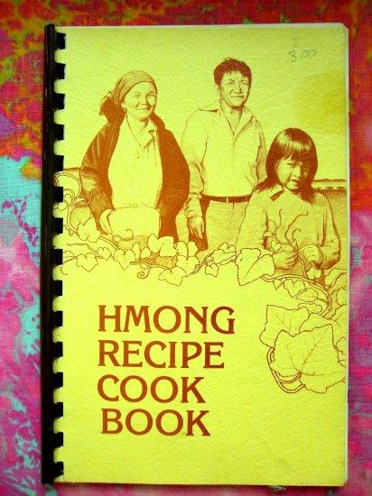 Rare HMONG Recipe Cookbook (Cook Book) Laos