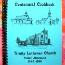 FISHER MINNESOTA (MN)  Lutheran Church Cookbook 1986