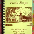 Litchfield Minnesota (MN) Lutheran Church Cookbook 1984