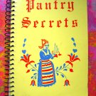 Pantry Secrets Church Cookbook 1963 Minneapolis, Minnesota MN  Swedish Smörgåsbord  too!