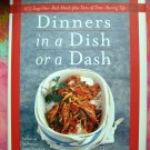 Dinners in a Dish Or a Dash: 275 Easy One-dish Meals / Recipes Cookbook ~ Jean Anderson