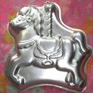 Vintage 1990 Wilton Can Pan CAROUSEL HORSE # 2105-6507
