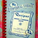 JOLIET ILLINOIS IL CHURCH COOKBOOK SWEDISH RECIPES