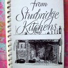 Favorite Recipes from Sturbridge Kitchens Cookbook Vintage 1980 Mass MA