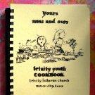 Vintage 1977 Trinity Lutheran Church Cookbook from Mason City Iowa Cookbook