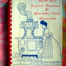 Recipes from Lincoln's Homestead ~ Washington County ~ Home Made Kitchen Cookbook Vintage 1966