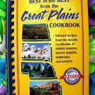 Best of the Best THE PLAINS Cookbook: From ND SD Nebraska Kansas Favorite Cookbooks Recipe Book