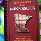 Best of the Best from Minnesota: Selected Recipes from Minnesota's Favorite Cookbook 400 Recipes!