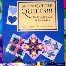 Quilts! Quilts!! Quilts!!!: The Complete Guide to Quiltmaking by Diana McClun Pattern Book