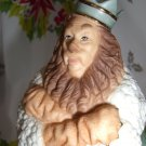 Lenox Classics Cowardly Lion Figure Wizard of Oz Statue NIB