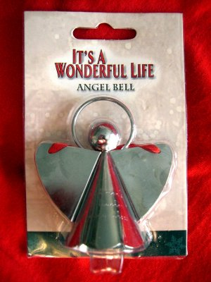 "SOLD! It's a Wonderful Life ENESCO ORNAMENT of an ANGEL ""each man's life touches so many others"""