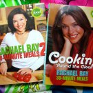 Lot Rachel Ray Cookbook ~ Cooking 'Round the Clock & 30-Minute Meals 2 (II)