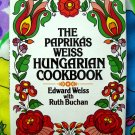 The PAPRIKAS WEISS HUNGARIAN Cookbook Circa 1983 HC/DJ