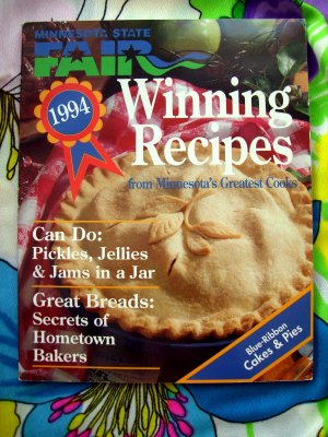 1994 Minnesota State Fair WINNING RECIPES ~ Recipe Collection / Cookbook