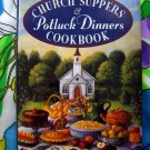 Yankee Magazine's Church Suppers & Potluck Dinners Cookbook by Andrea Chesman HC
