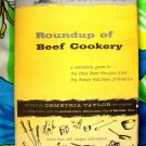 Roundup of Beef Cookery ~ Vintage 1960 Cookbook ~ Ranch Recipes