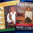 LOT Linda McCartney's Home Cooking & Linda's Kitchen ~ Vegetarian Cookbook