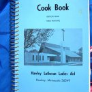 Hawley Minnesota MN Lutheran Church Cookbook Vintage 1975