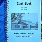 Hawley Minnesota MN Lutheran Church Cookbook Vintage 1975