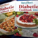 Lot TASTE OF HOME DIABETIC Cookbook 2004 & 2006 Over 400 Recipes!