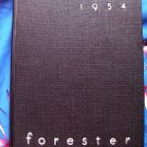 Vintage 1954  Forester ~ Lake Forest College Yearbook Illinois