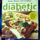 Simple Everyday Diabetic Meals by Better Homes and Gardens Cookbook 100's of Recipes!