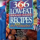 366 Low-Fat, Brand-Name Recipes in Minutes Cookbook