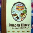 Duncan Hines Classic Recipes ~ HC Cookbook ~ Cakes Cookies Desserts