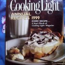 Cooking Light Annual 1999 Cookbook  800 RECIPES! A Years Worth of Recipes From Foodie Magazine