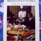 Dining In- Minneapolis St. Paul MN ~ Vintage 1979 Restaurant Recipes Cookbook