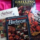Lot BBQ Barbecue Cookbook  100's Recipes Vintage & New! ~ Grilling Sides Marinades