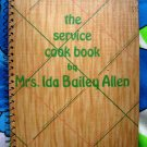 Vintage 1933 Depression Cookbook Service Cook Book by Ida Bailey Allen Number One