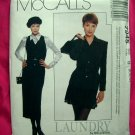 McCall's # 7945 Misses Pattern Lined Jacket Skirt Jumper Blouse Size 8 10 12 Laundry Shelli Segal