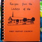 Litchfield Minnesota MN First Baptist Cookbook Vintage 1977