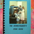 The Homesteader's Cookbook Minnesota River Valley 1971 ~ MN