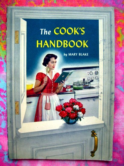 Vintage 1951 Carnation Foods THE COOK'S HANDBOOK  Baking