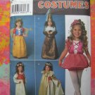 Simplicity Costume Pattern #7378 / #0678 UNCUT Girls Size 3 4 5 6 7 8 Princess MORE!