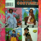 Simplicity Costume Pattern #8356 Girls Fairy Tale Costumes - Snow White ETC  UNCUT Size 3-4-5-6-7-8